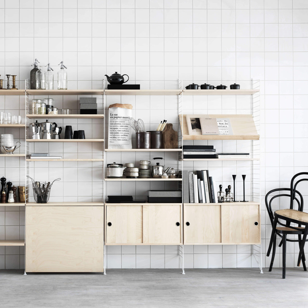 String Shelving System: Essentials