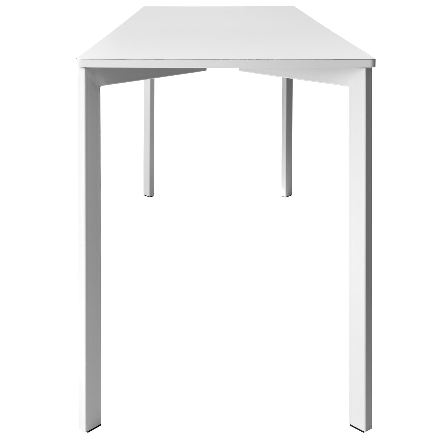 Y! Bar Table: Large + Pure White