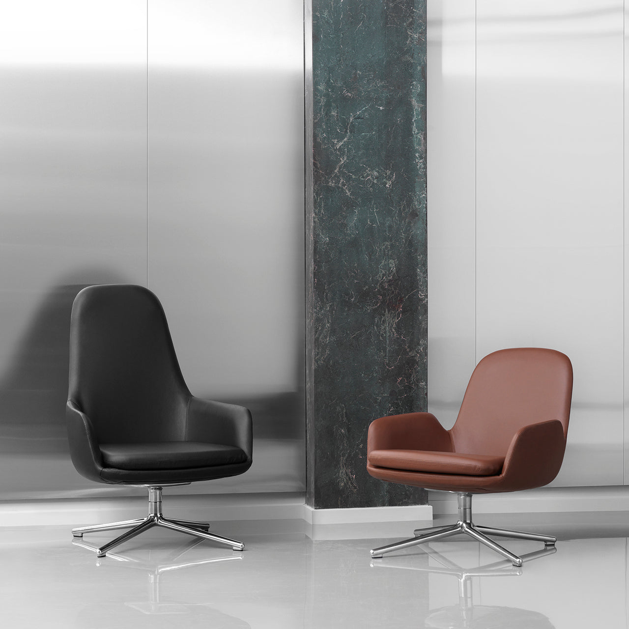 Era Lounge Chair Swivel: Low