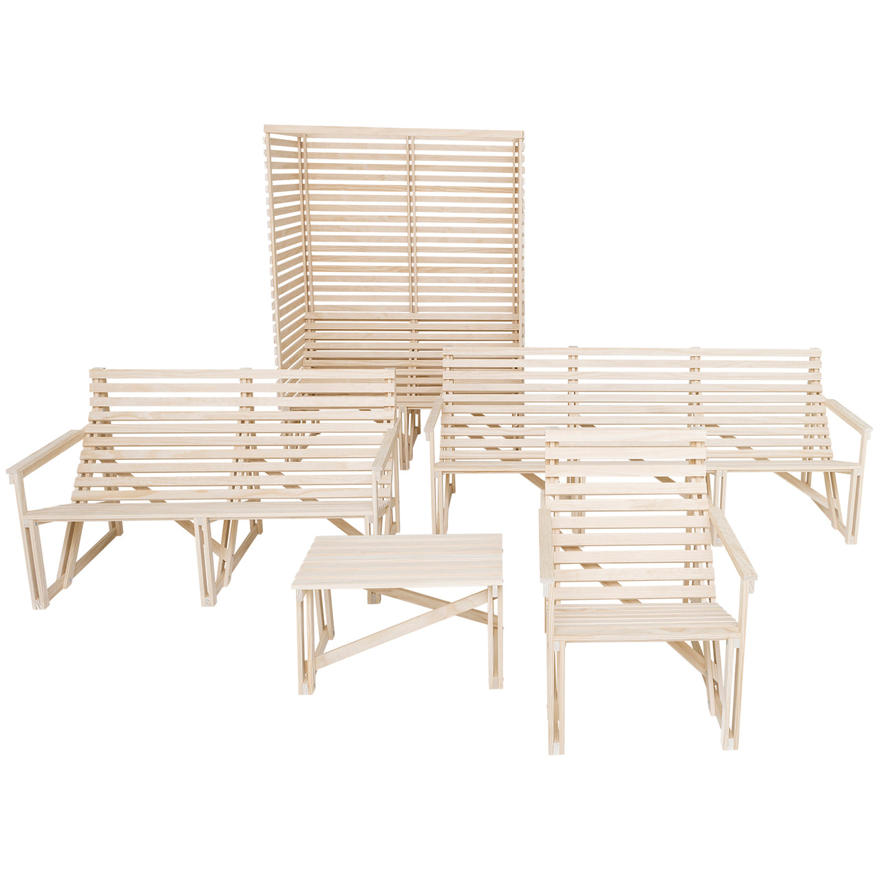 Patiobench 4-5 Seater