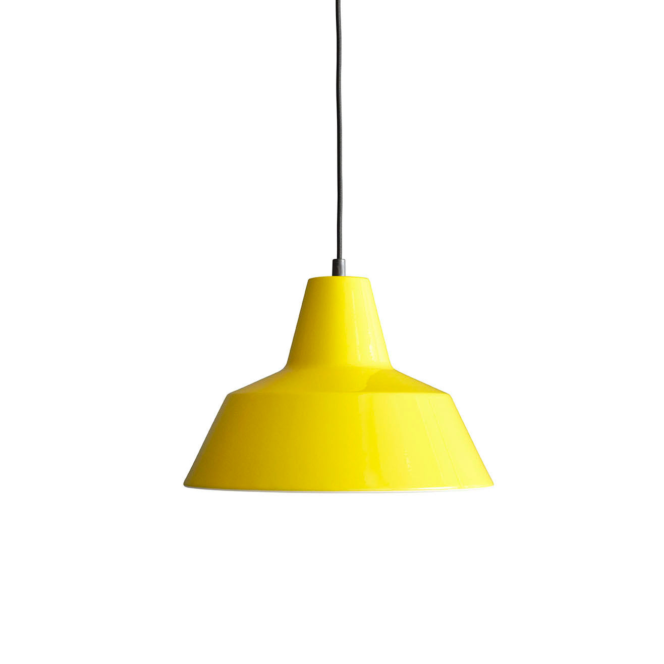 Workshop Pendant Lamp W3: Yellow