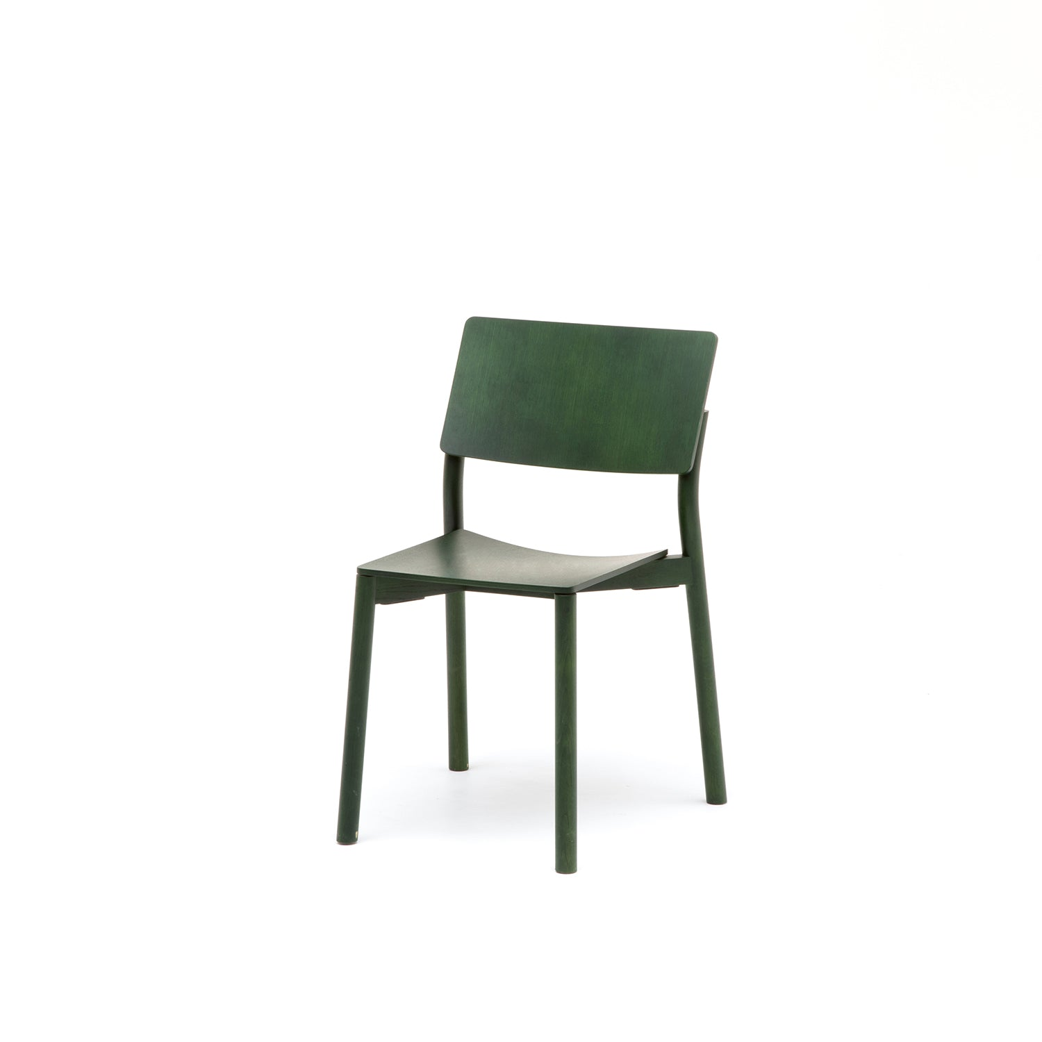 Panorama Chair: Moss Green Oak