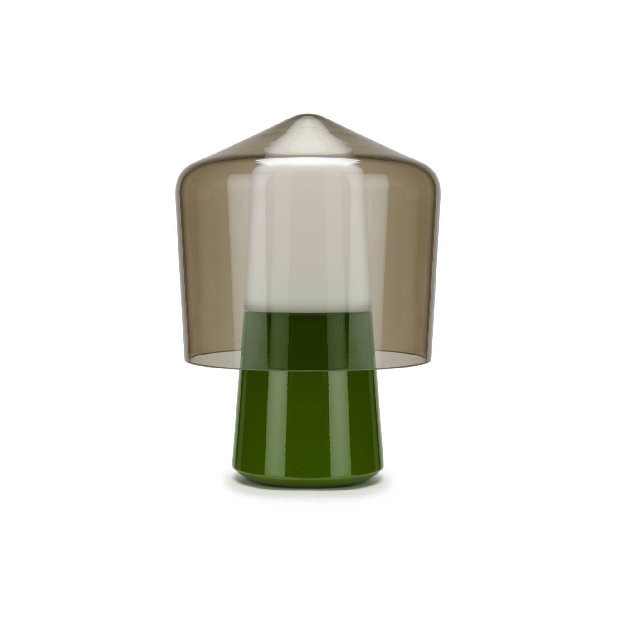 Tip Top Table Lamp: Green
