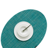 OnEdge Placemat + Coaster Set: Turquoise