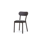 Castor Chair Plus with Pad: Black Oak