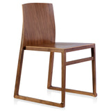 Hanna Sled Chair: Wood
