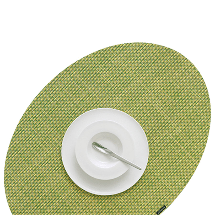 OnEdge Placemat + Coaster Set: Dill