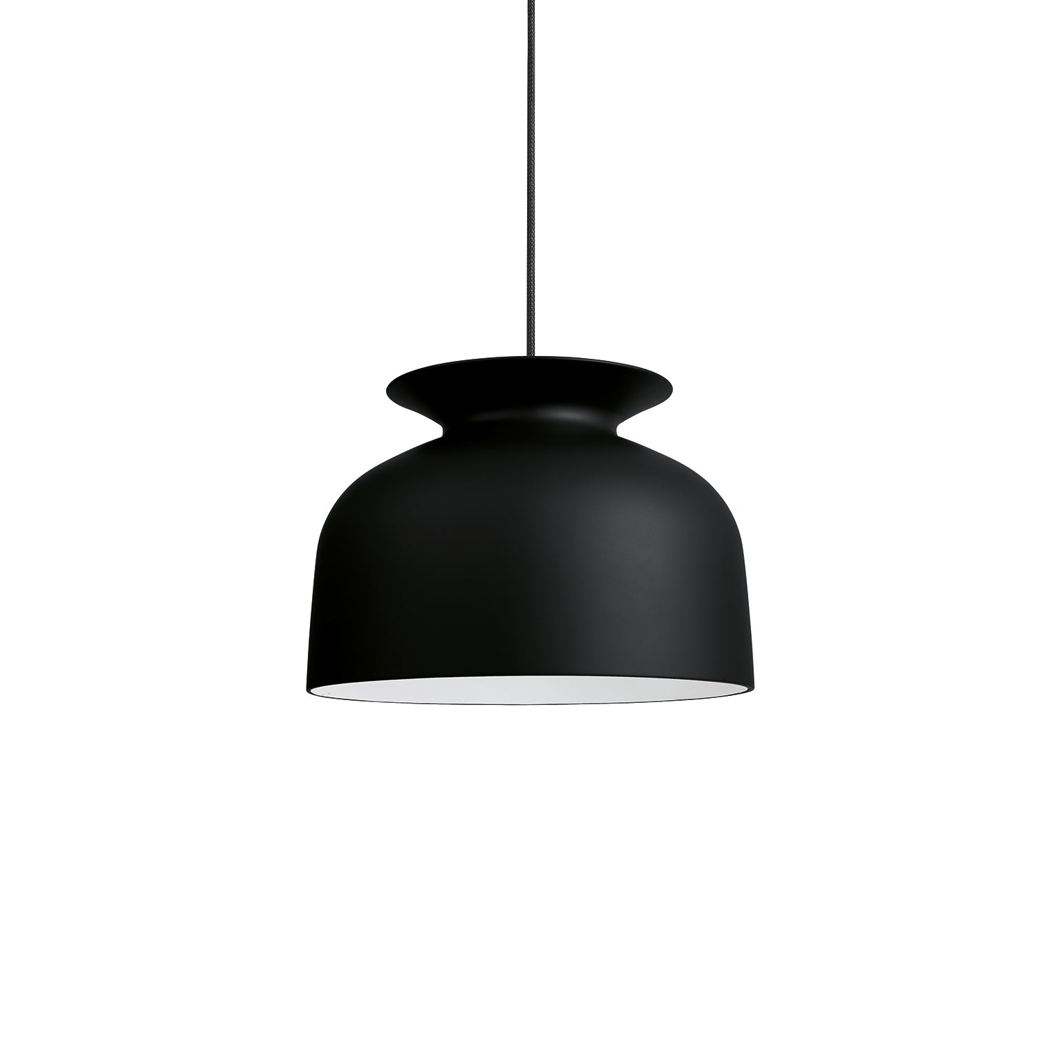 Ronde Pendant: Large + Soft Black