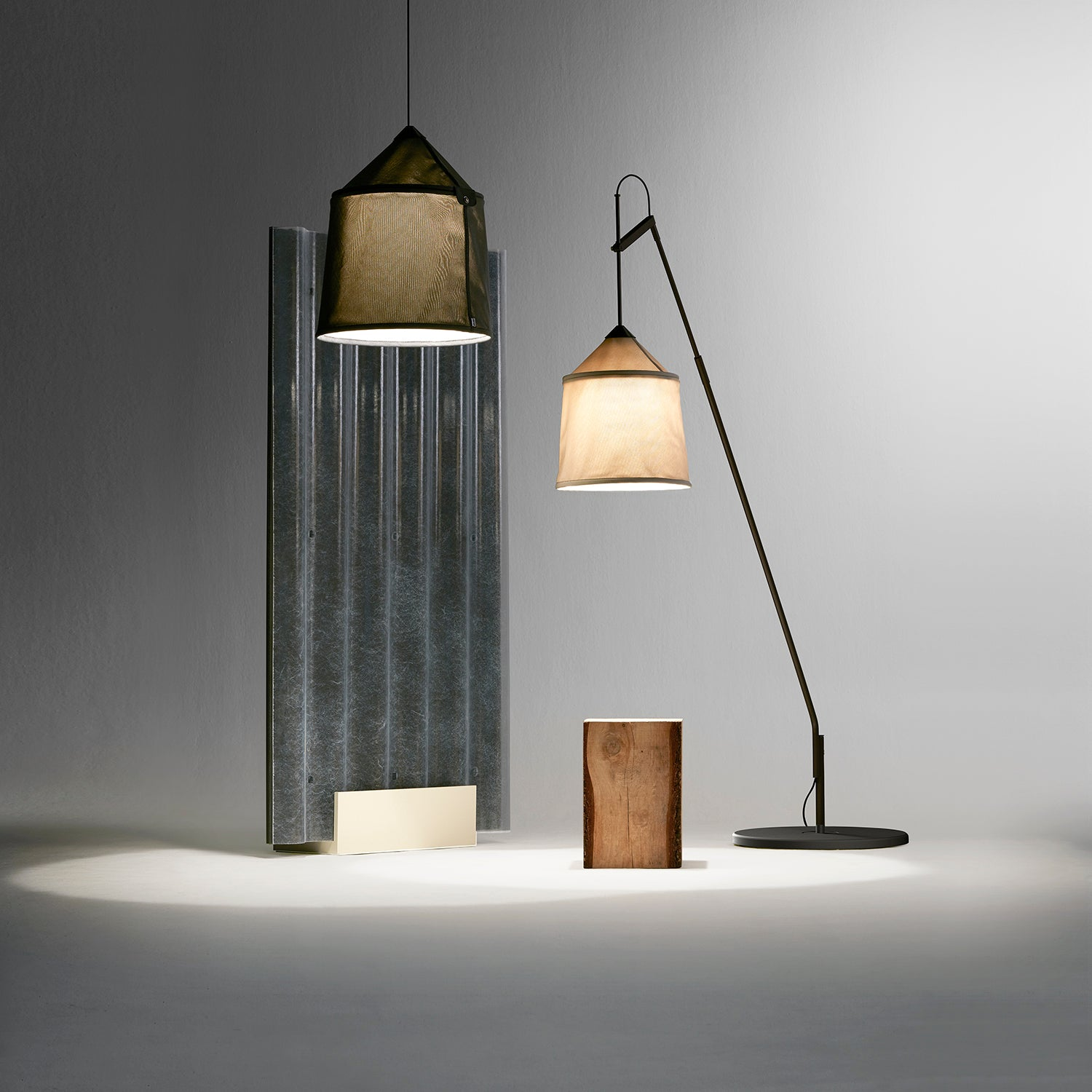 Jaima Floor Lamp: Indoor