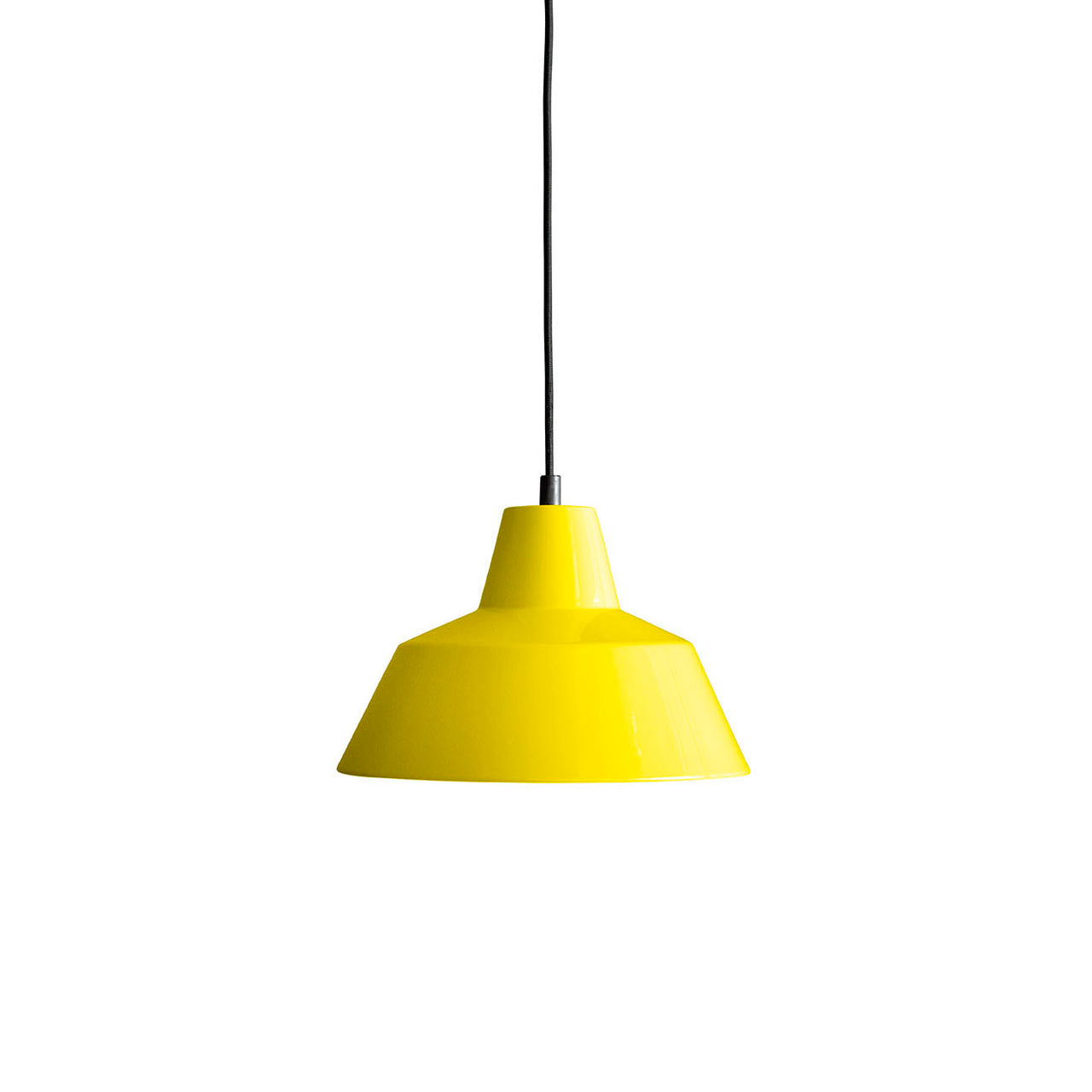 Workshop Pendant Lamp W2: Yellow