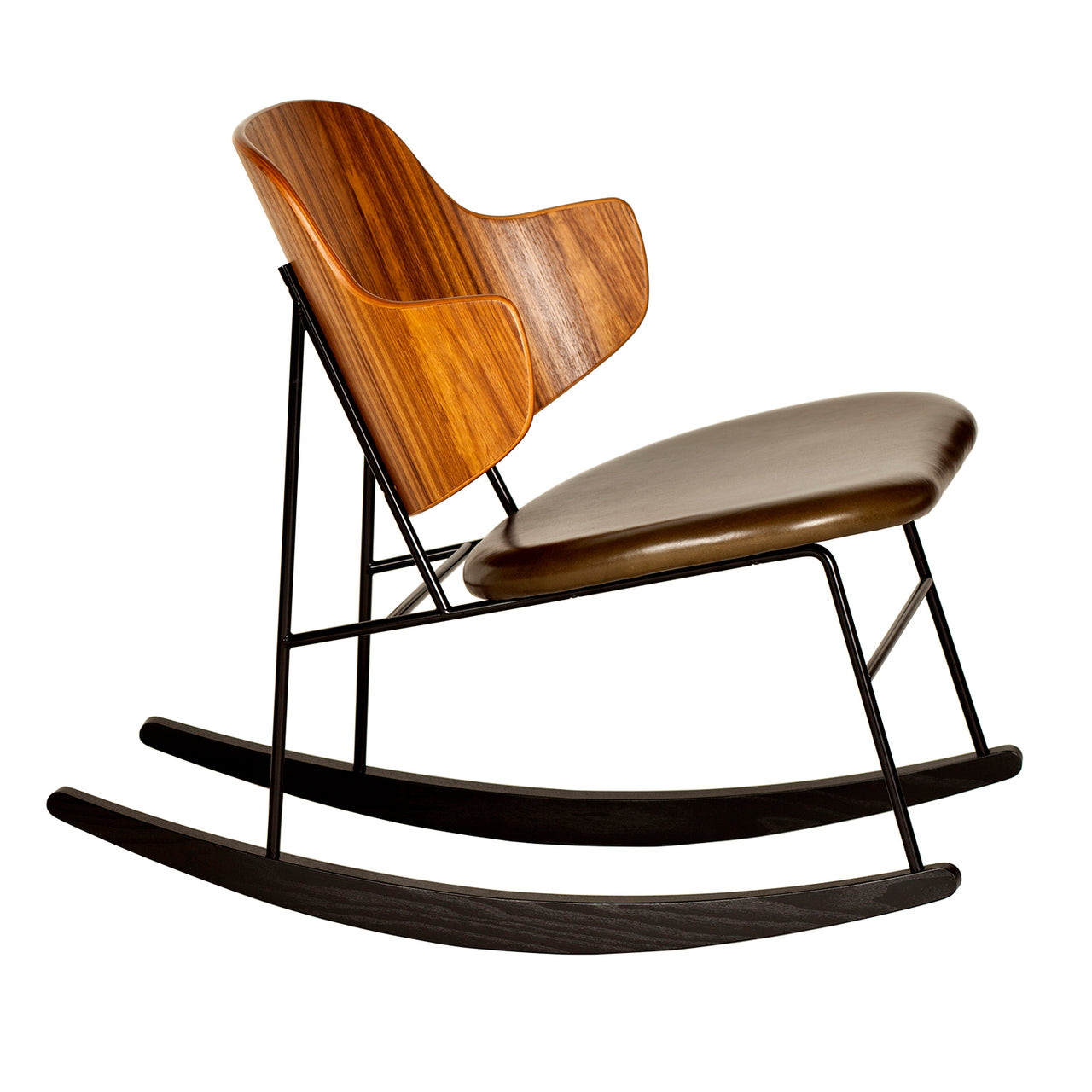 Penguin Rocking Chair: Seat Upholstered
