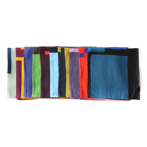 Kate Shepherd Linen Dinner Napkin Set: Bold
