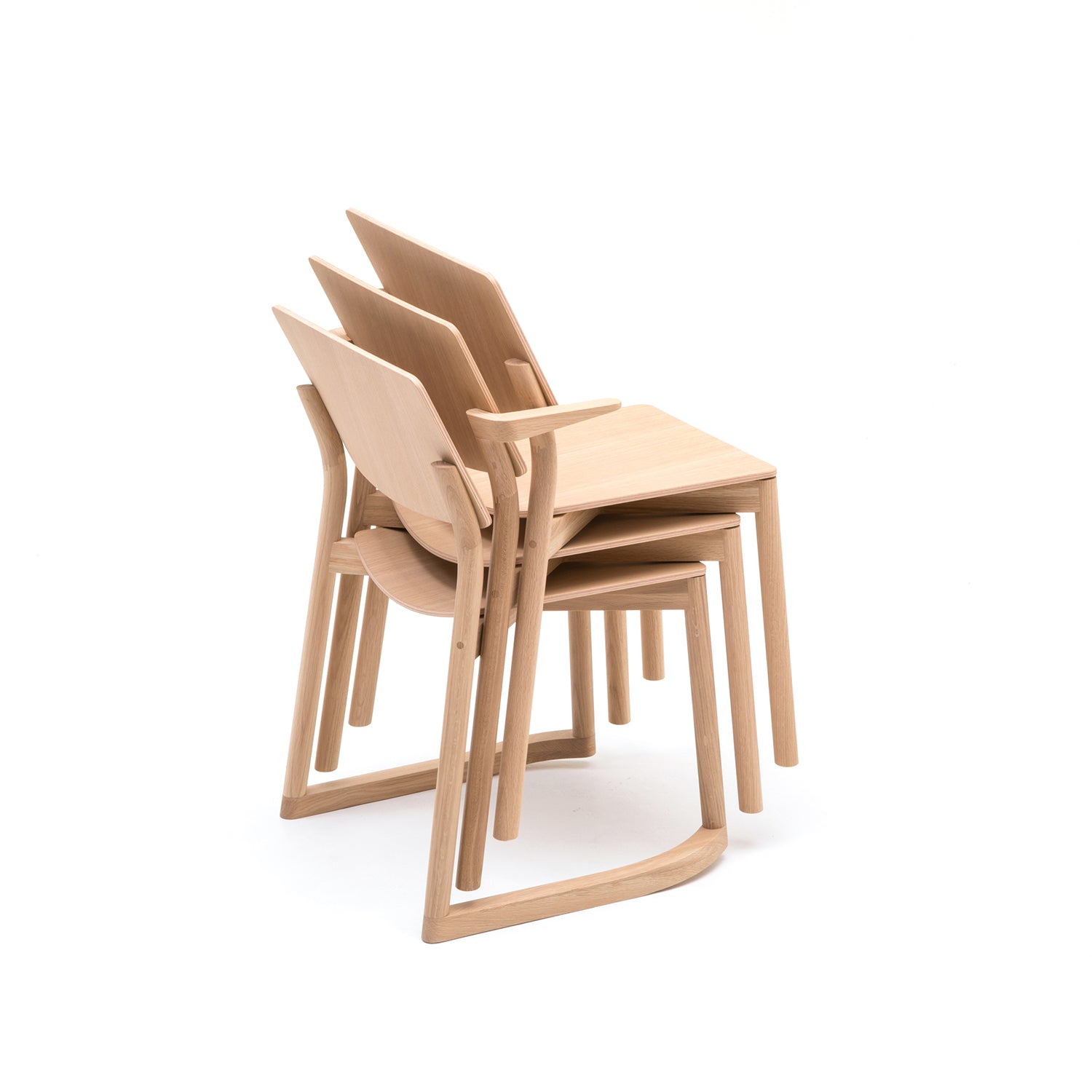 Panorama Chair: Pure Oak