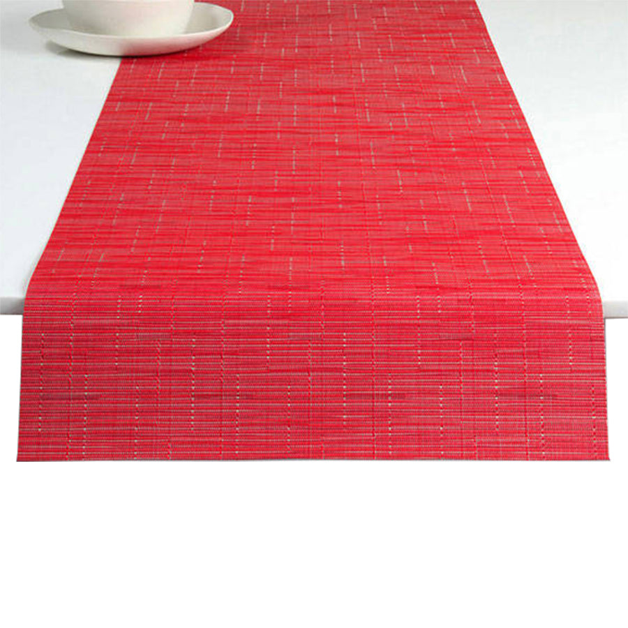 Bamboo Table Runner: Poppy