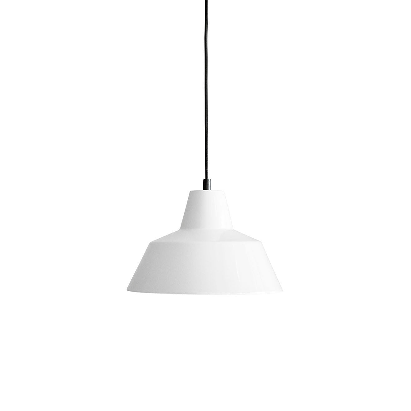 Workshop Pendant Lamp W2: White