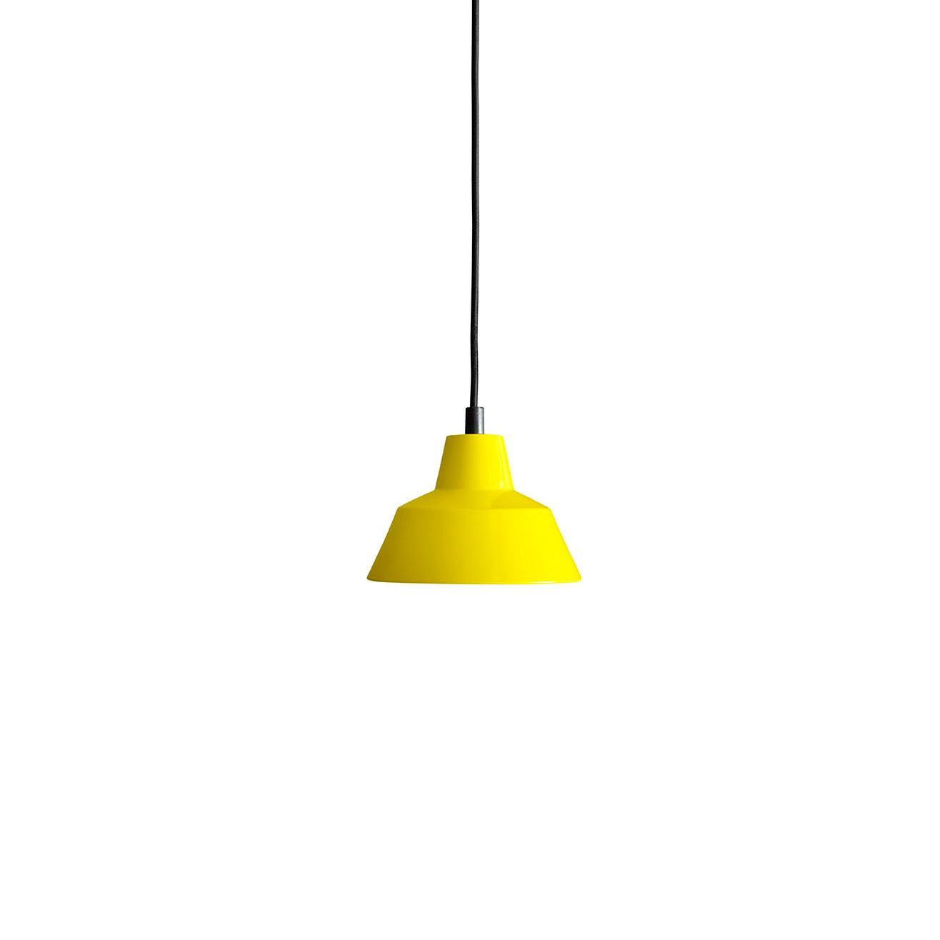 Workshop Pendant Lamp W1: Yellow