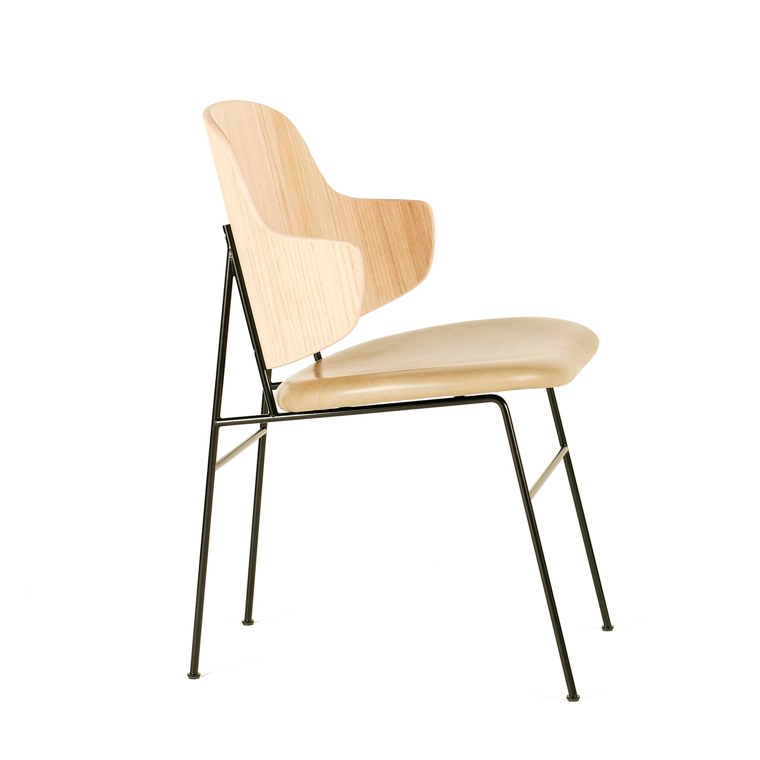 Penguin Dining Chair: Seat Upholstered