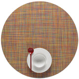 Mini Basketweave Placemats: Round + Confetti