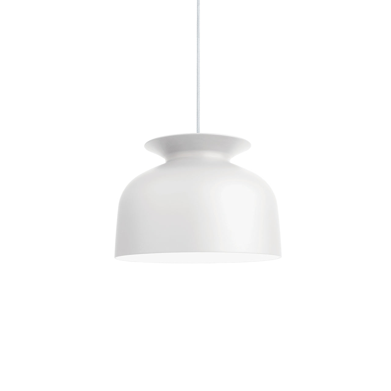 Ronde Pendant: Large +White