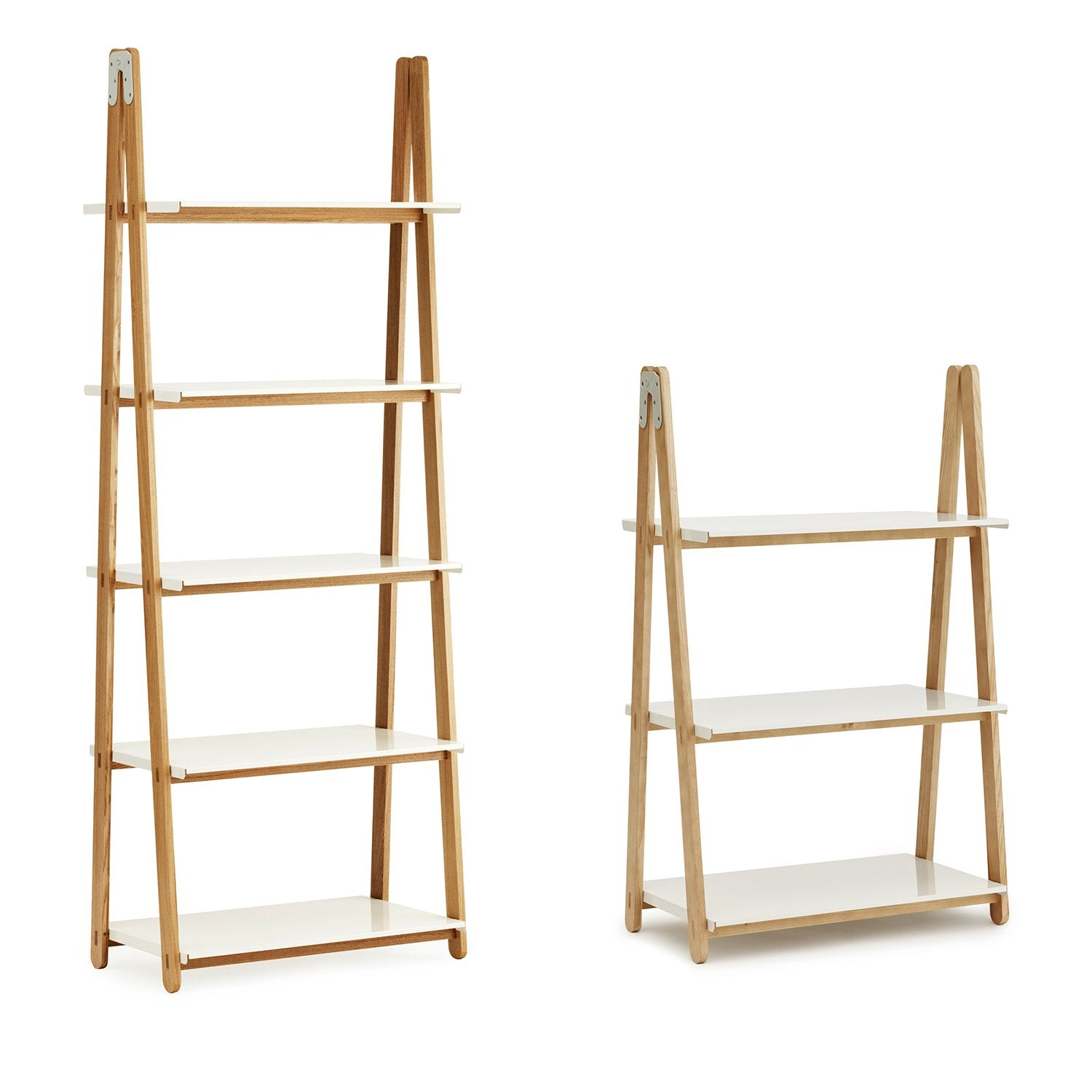 One Step Up Bookcase: High + Low