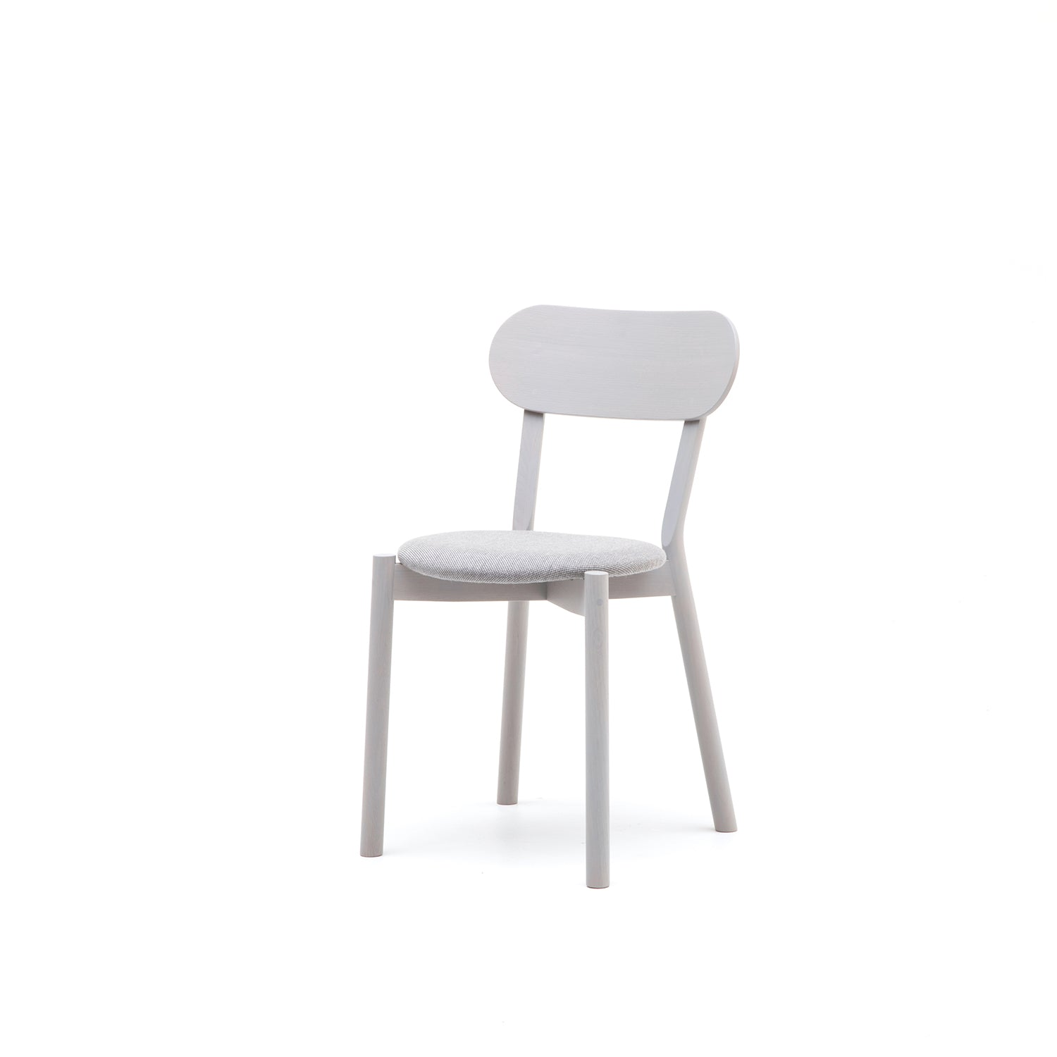 Castor Chair Plus with Pad: Grain Grey Oak
