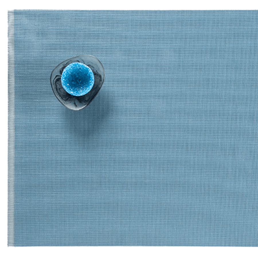 Fringe Placemats: Blue