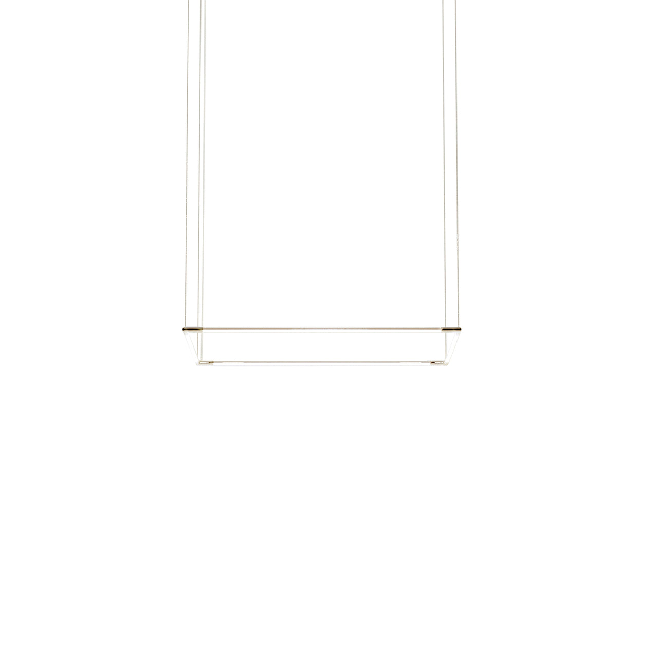Thin Primaries Rectangle: Small + Satin Nickel