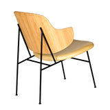 Penguin Lounge Chair: Seat Upholstered