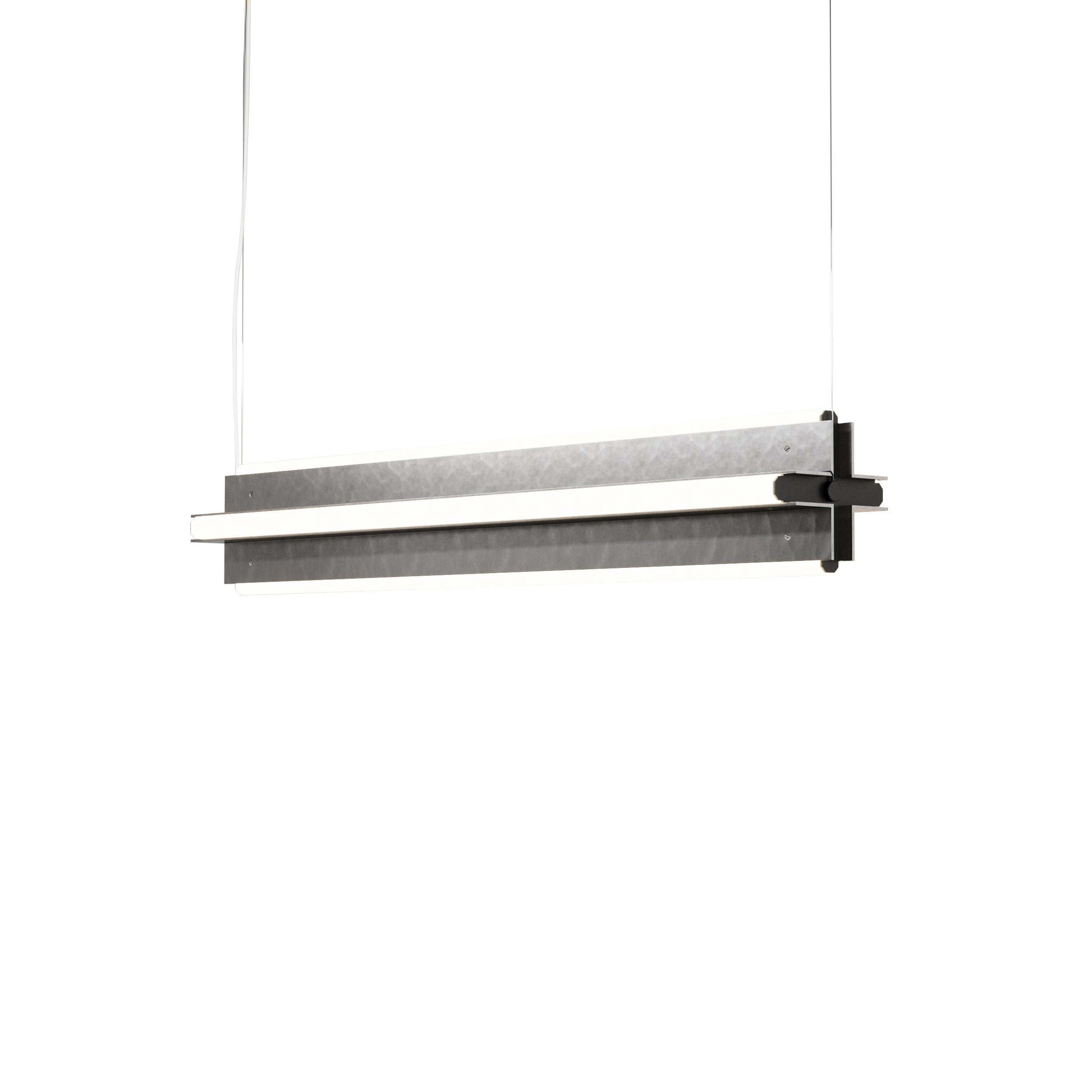 "Axis X Suspension Light: 36"" + Antique Pewter"