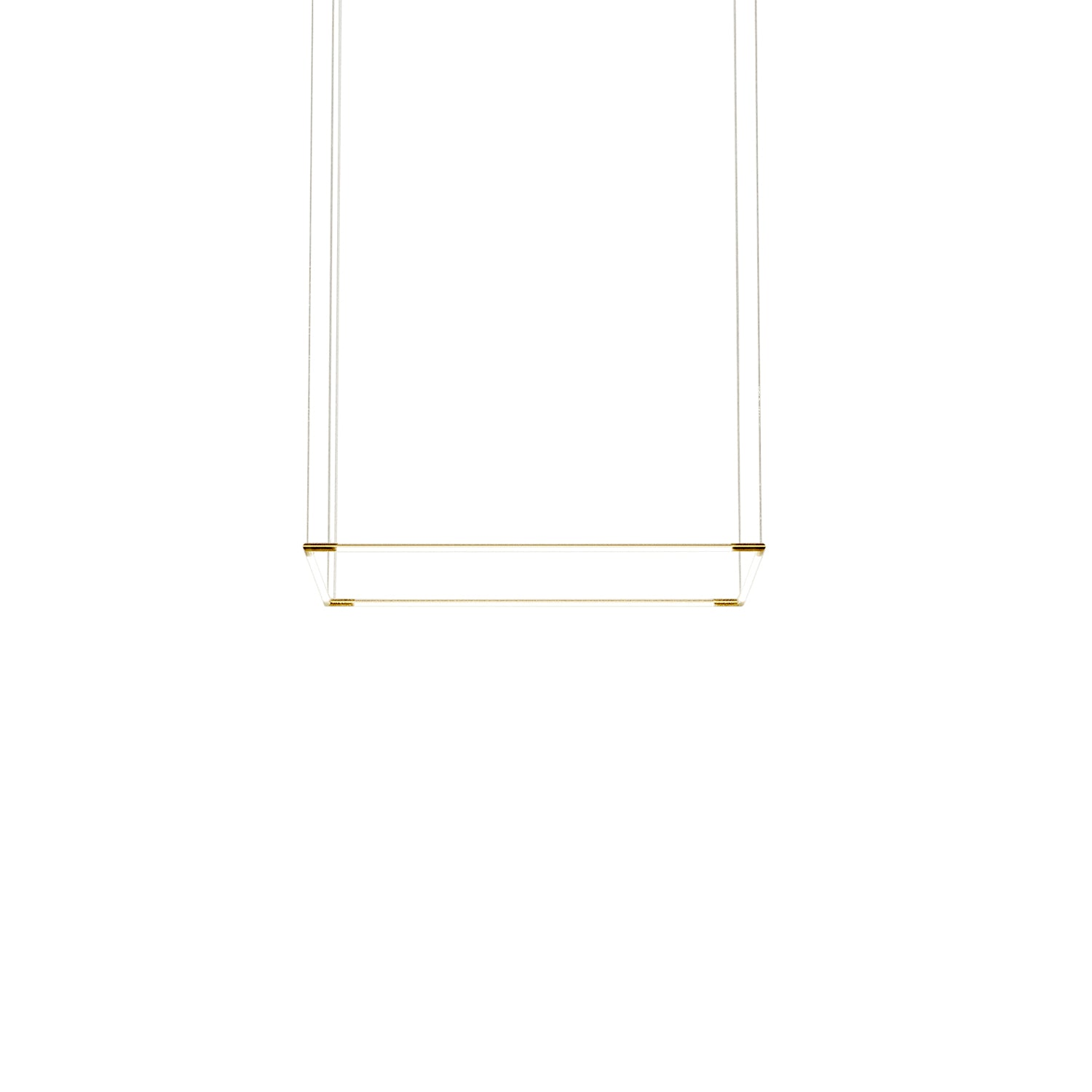 Thin Primaries Rectangle: Small + Satin Brass