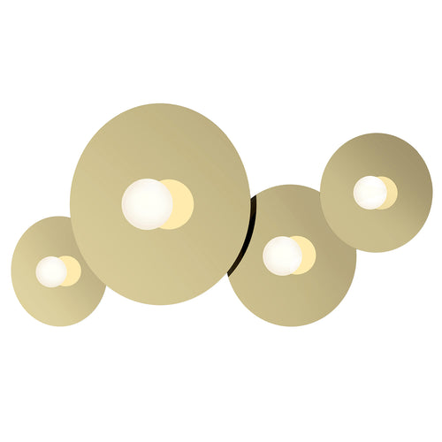 Bola Disc Flush Wall Light