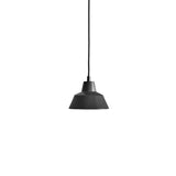 Workshop Pendant Lamp W1: Matte Black