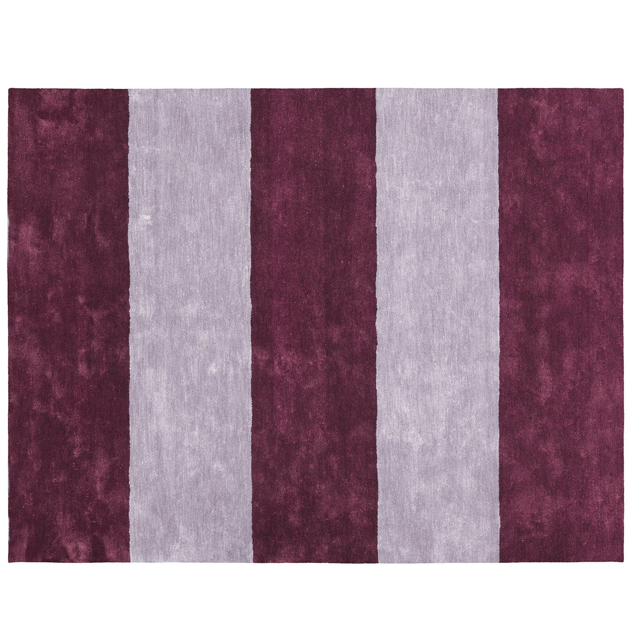 Pavilion Carpet: Large + Burgundy + Lilac