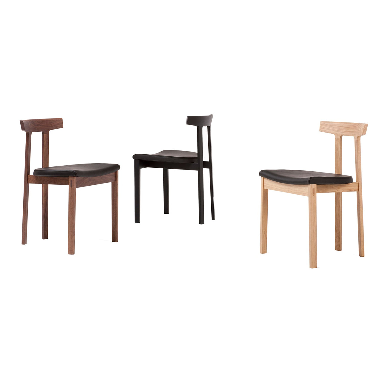 Torii Chair: Upholstered