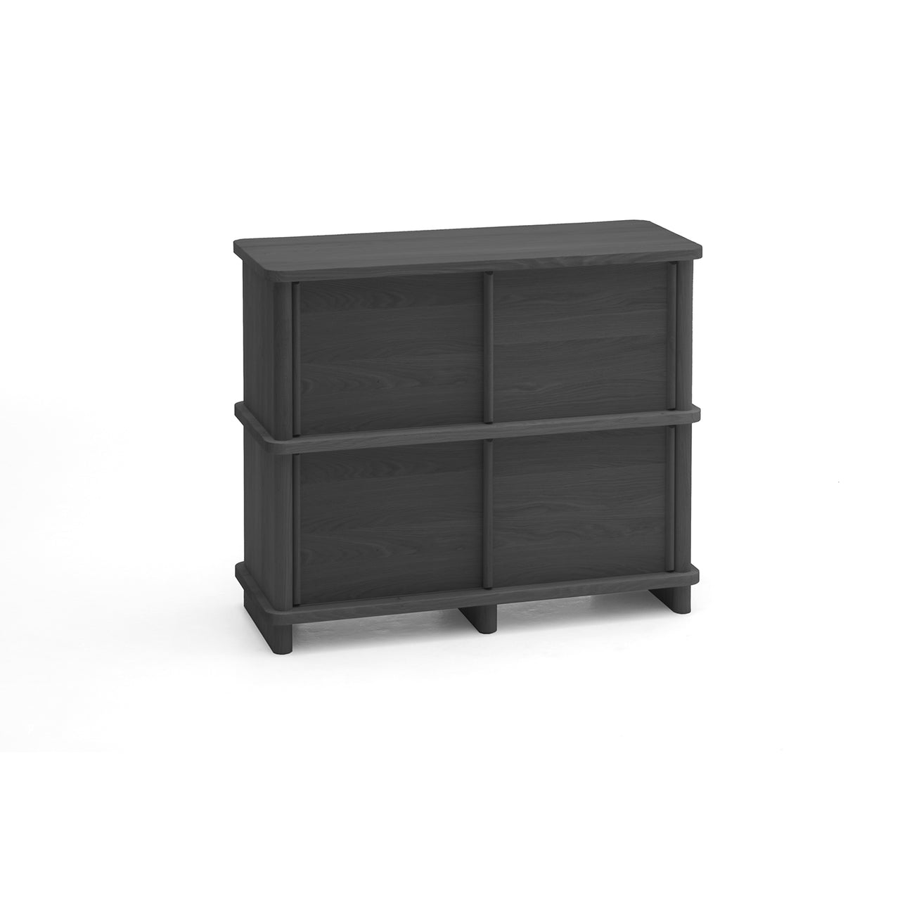 Prop Sideboard: Small + Black Oak