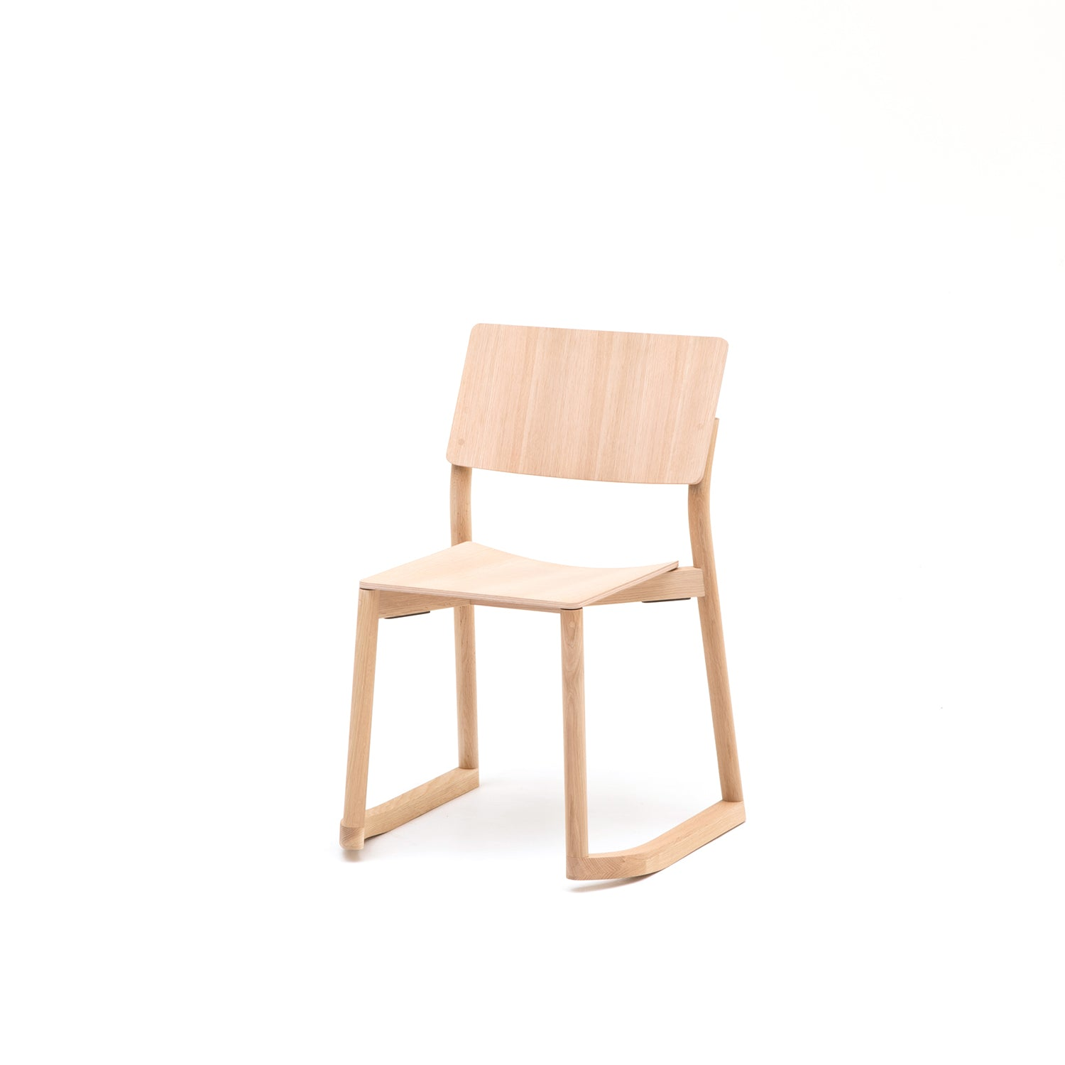 Panorama Chair With Runners: Pure Oak