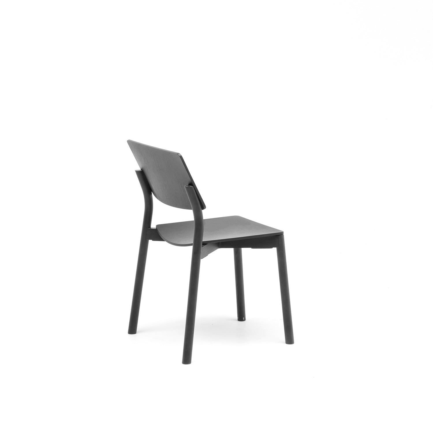 Panorama Chair: Black Oak