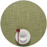 Mini Basketweave Placemats: Round + Dill