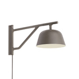Ambit Wall Lamp: Taupe