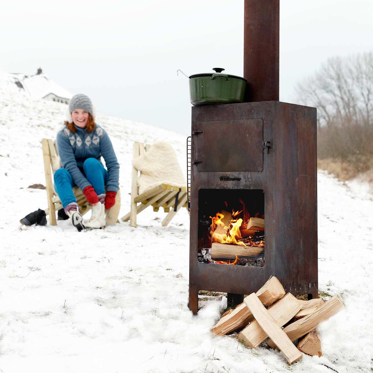 Outdooroven