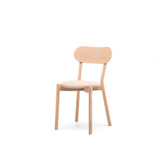 Castor Chair Plus with Pad: Pure Oak