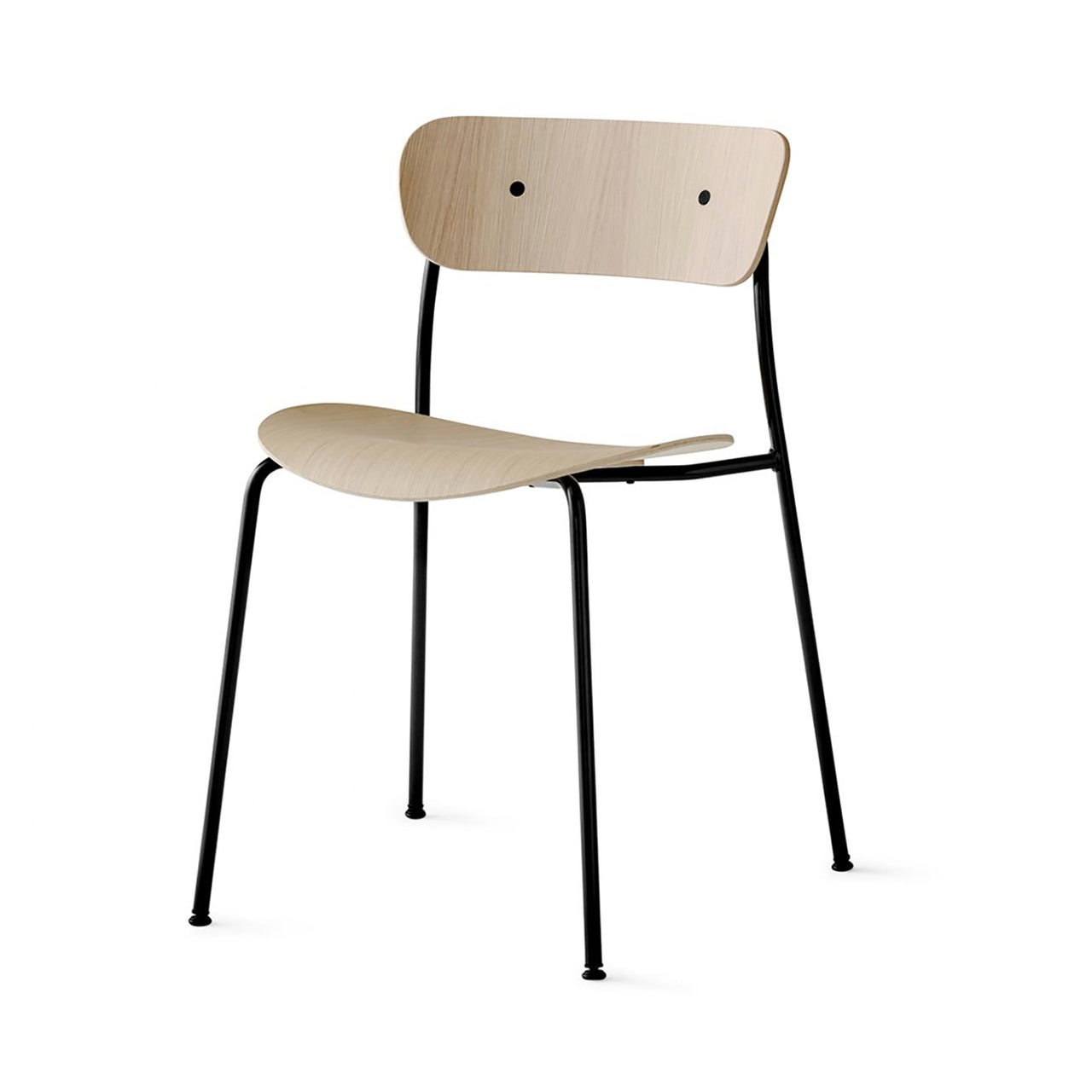 Pavilion Chair AV1: Lacquered Oak