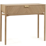 Marius Console: Natural Oak