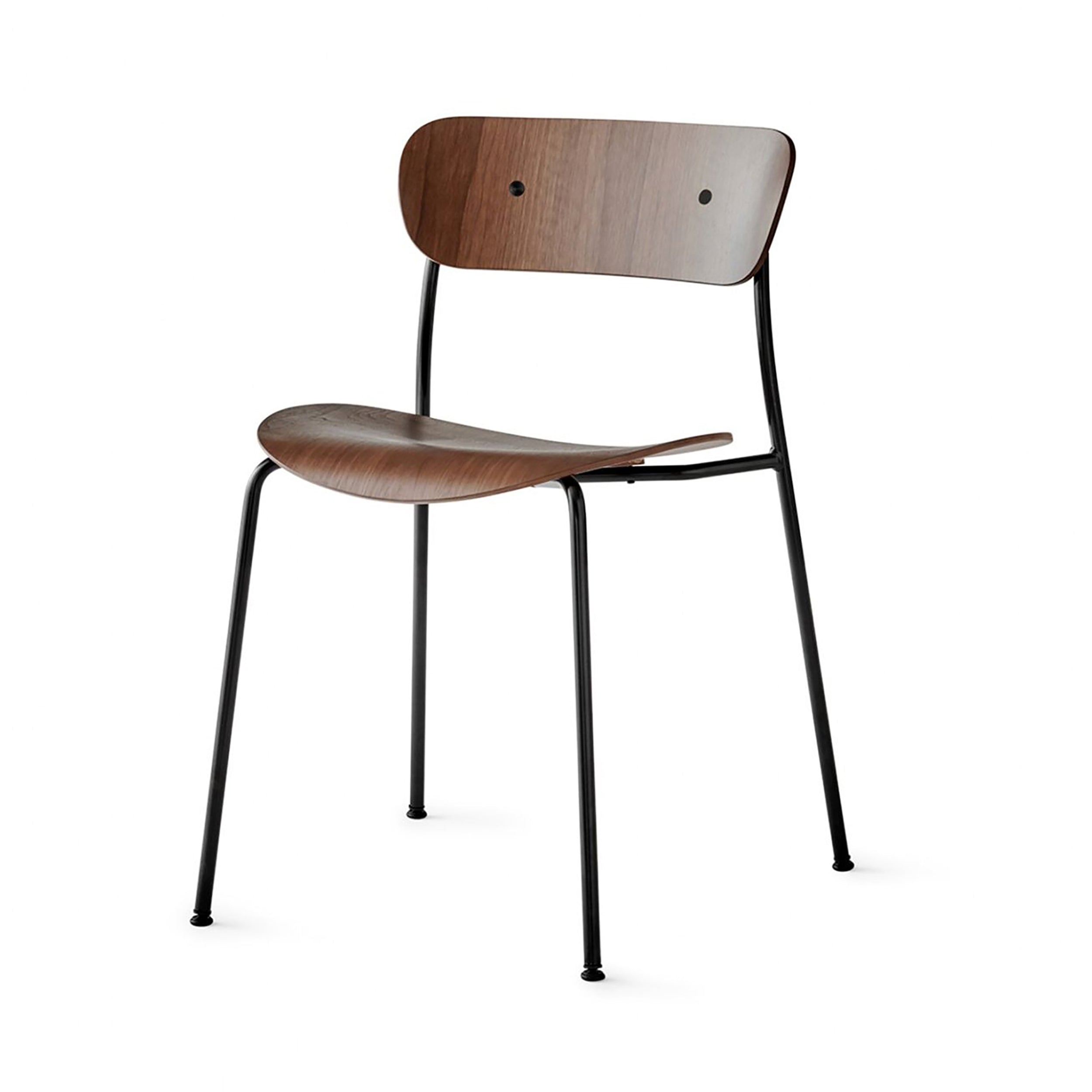 Pavilion Chair AV1: Lacquered Walnut