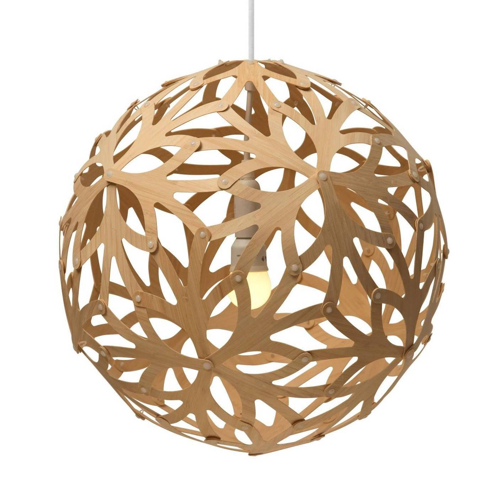 Floral Pendant Light: 1200 + Natural