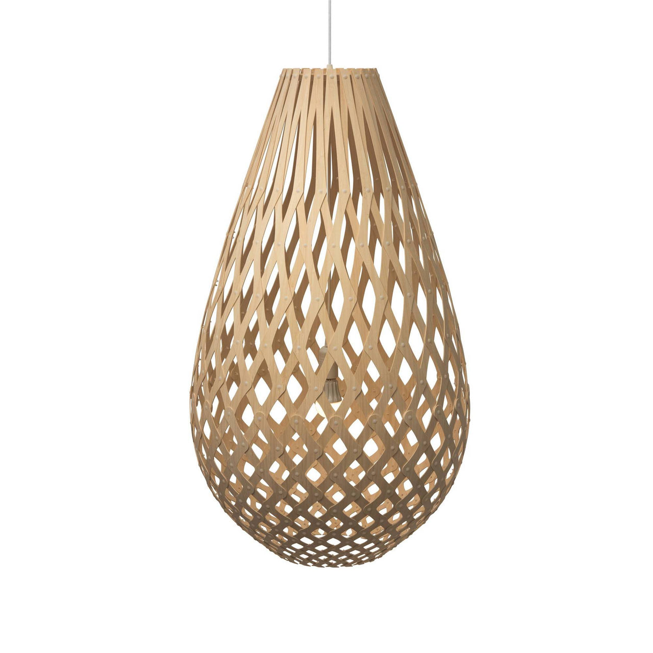 Koura Pendant Light: 1000 + Natural