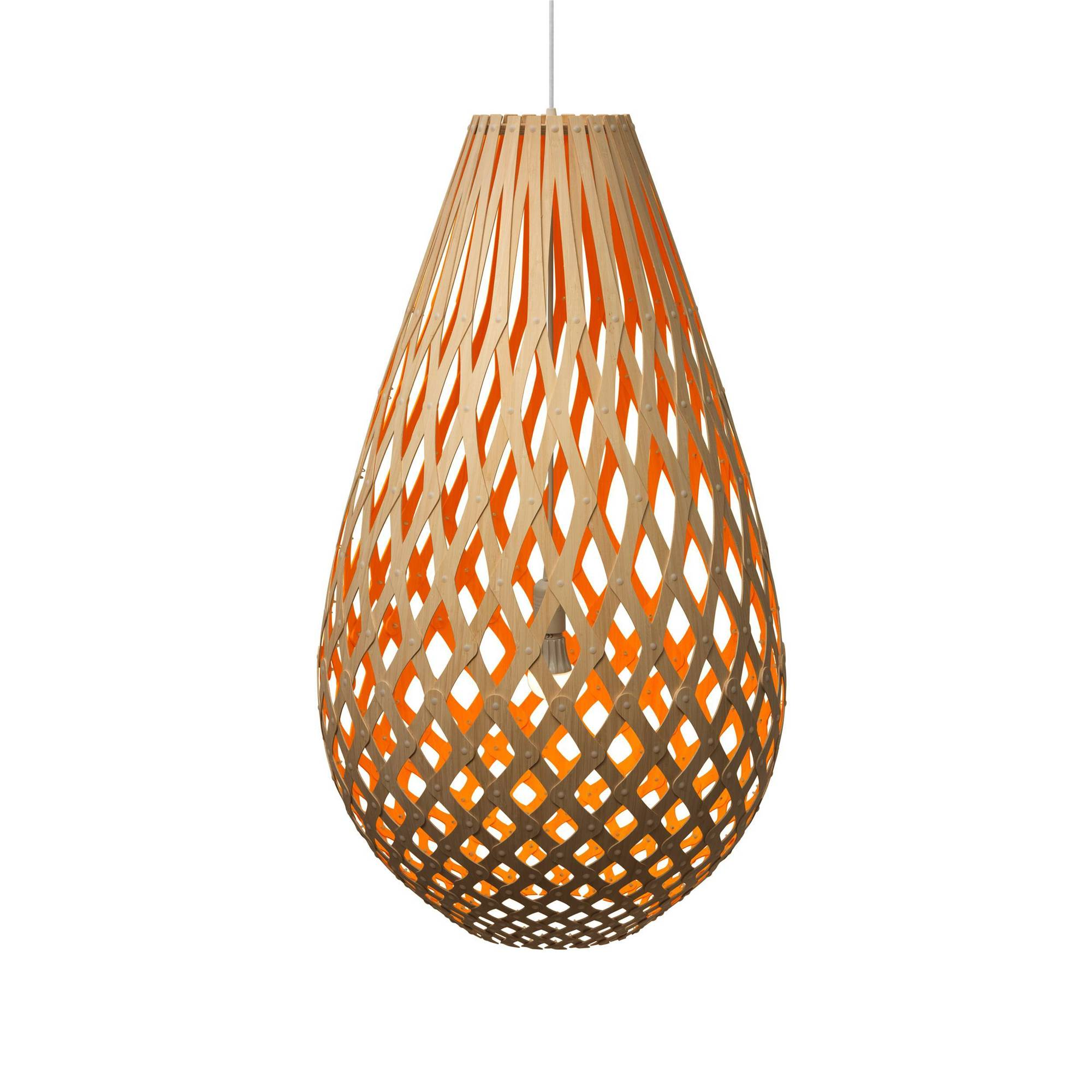 Koura Pendant Light: 1000 + Orange