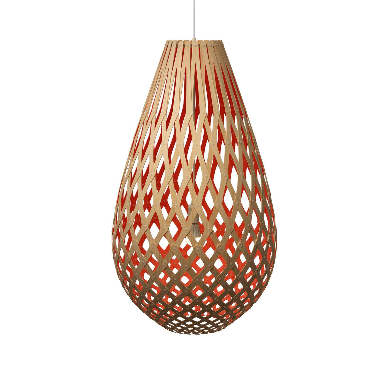 Koura Pendant Light: 1000 + Red