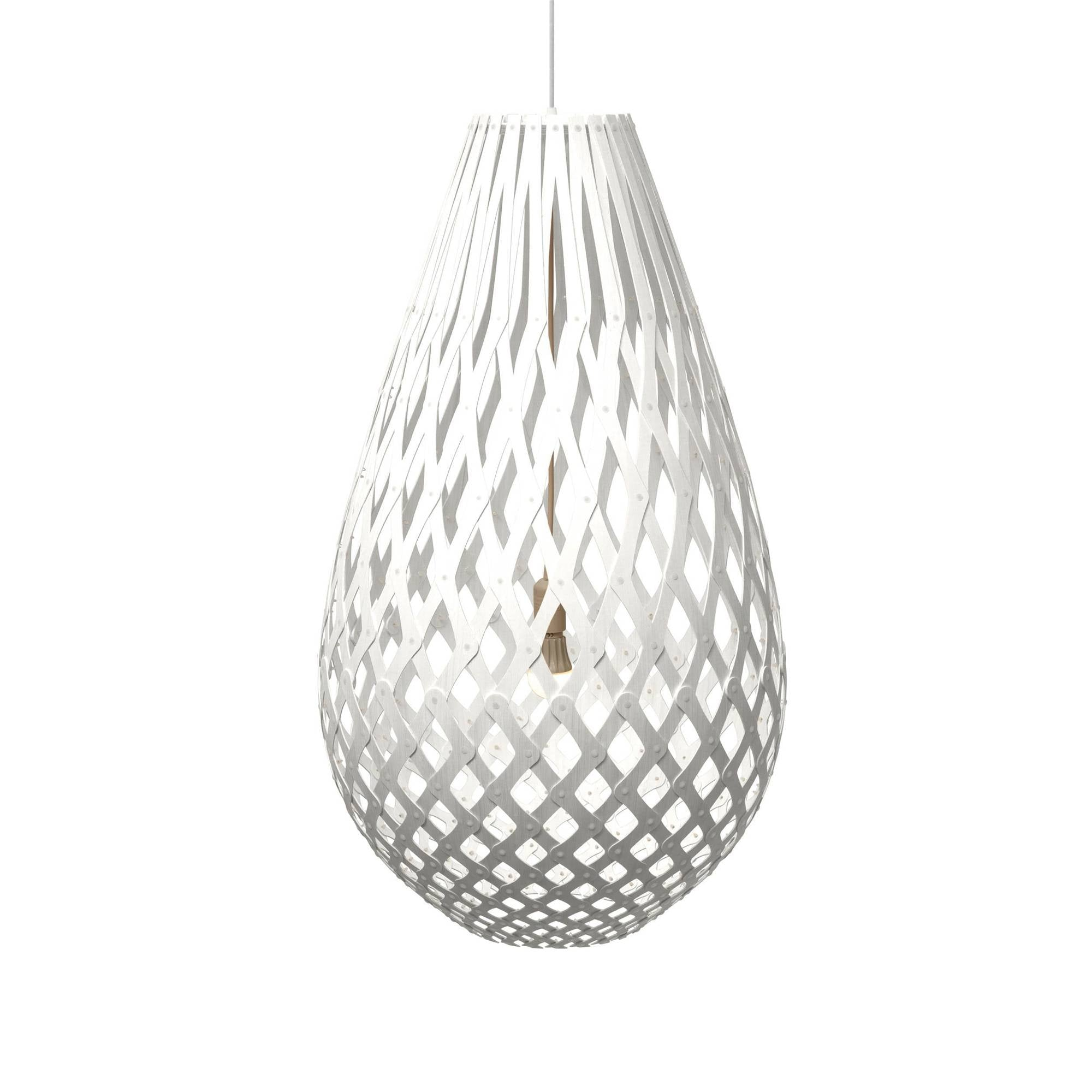 Koura Pendant Light: 1000 + White Two Sides