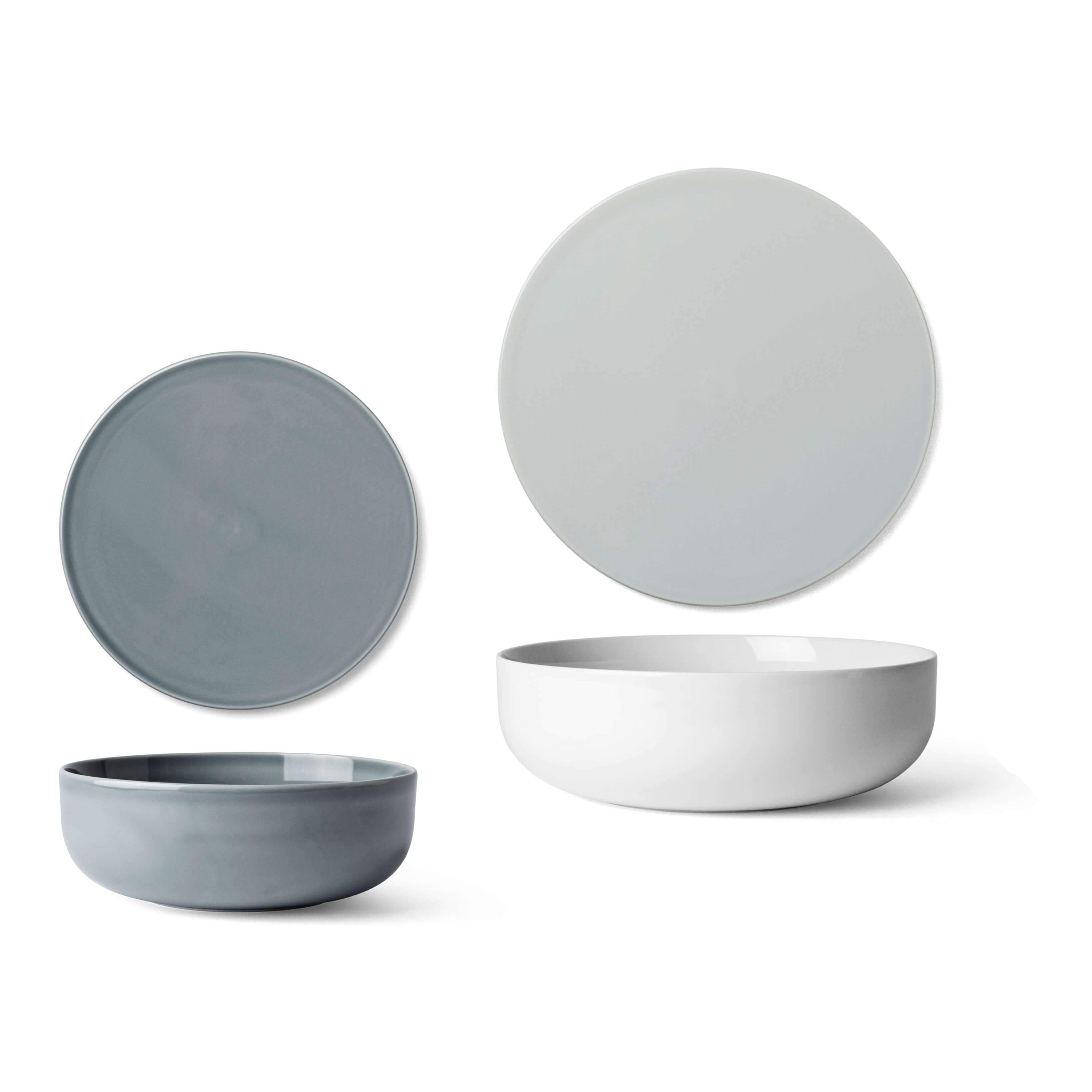 New Norm Dinnerware: Bowl + Plate/Lid